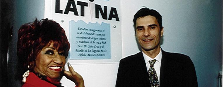 Celia Cruz - Inauguración Mega Latina 1999 (Tenerife)