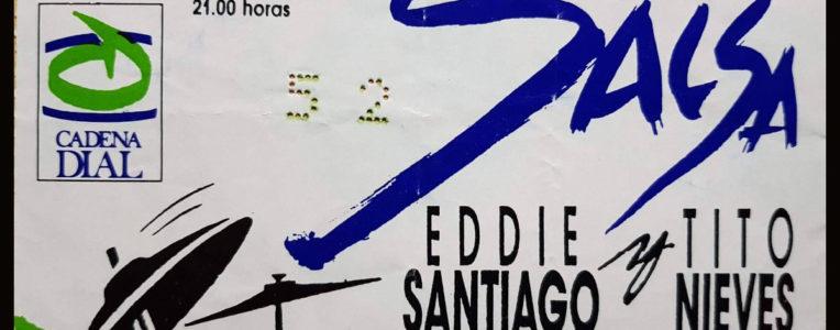 Eddie Santiago & Tito Nieves - Plza Toros SC Tfe