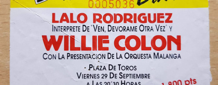 Lalo Rguez & Willie Colon - Plza Toros SC Tfe