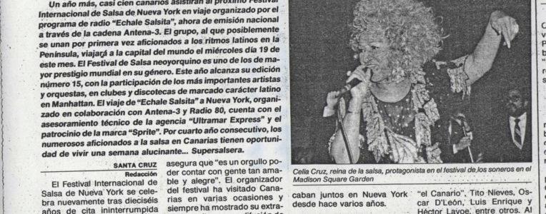 Viaje NY Salsa Festival