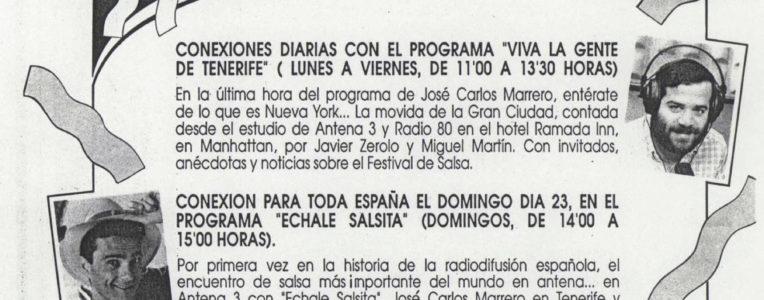 Viaje NY Salsa Festival Antena 3 - Echale Salsita